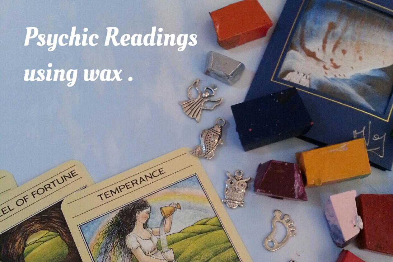 psychic tarot reading using wax