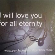 I will love you for all eternity