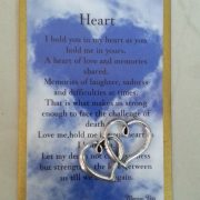 heart card and charm