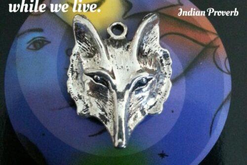 wolf charm
