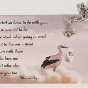 Miscarriage Remembrance Card